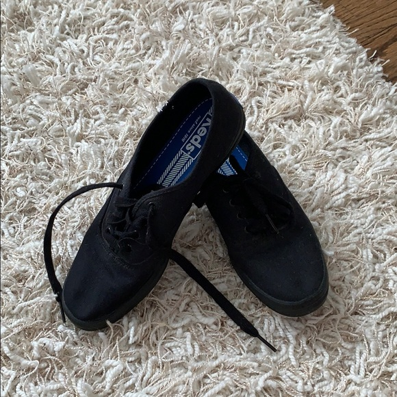 Black keds sneakers size 7.5